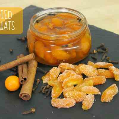 Meatless Mondays: Candied Kumquats (Two Ways)