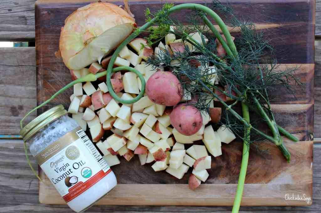 Vegan Garden Fresh Breakfast Potatoes Ingredients