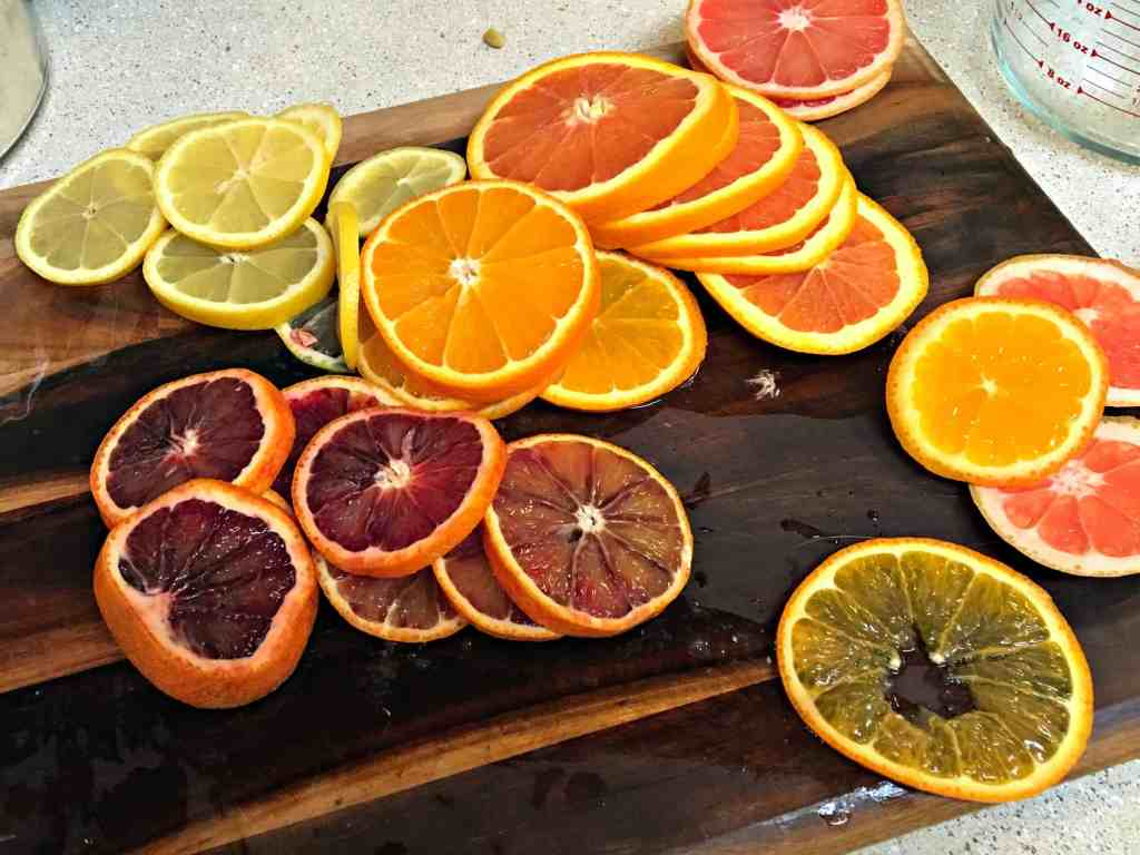 Candied Citrus Recipe Sliced Fruit
