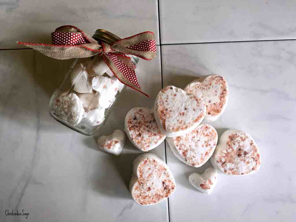 DIY Bath Bomb Recipe Pile