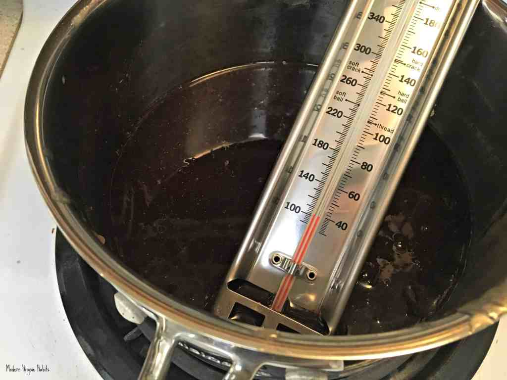 Homemade Herbal Cough Drops Candy Thermometer