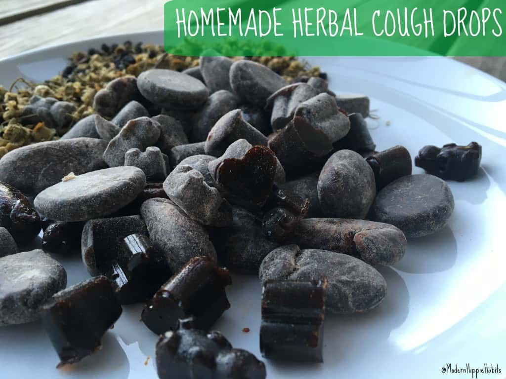 Homemade Herbal Cough Drop Recipe