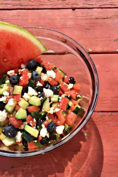 Refreshing Vegetarian Summer Salad