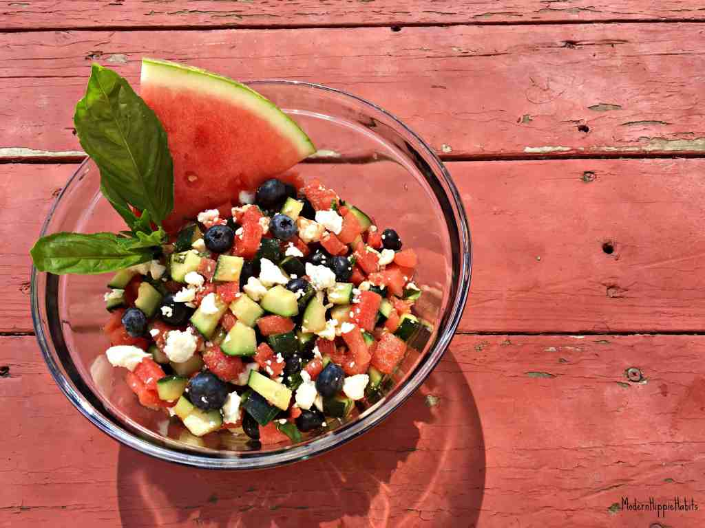 Refreshing Summer Salad Vegetarian
