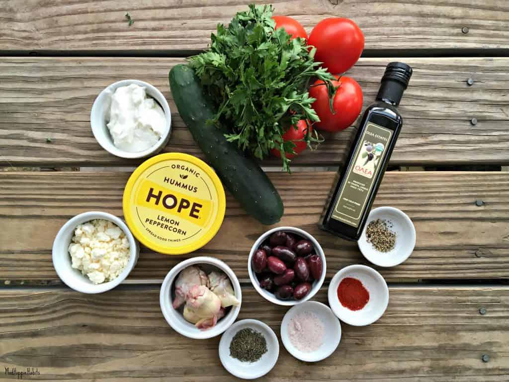 Hummus Dip Ingredients