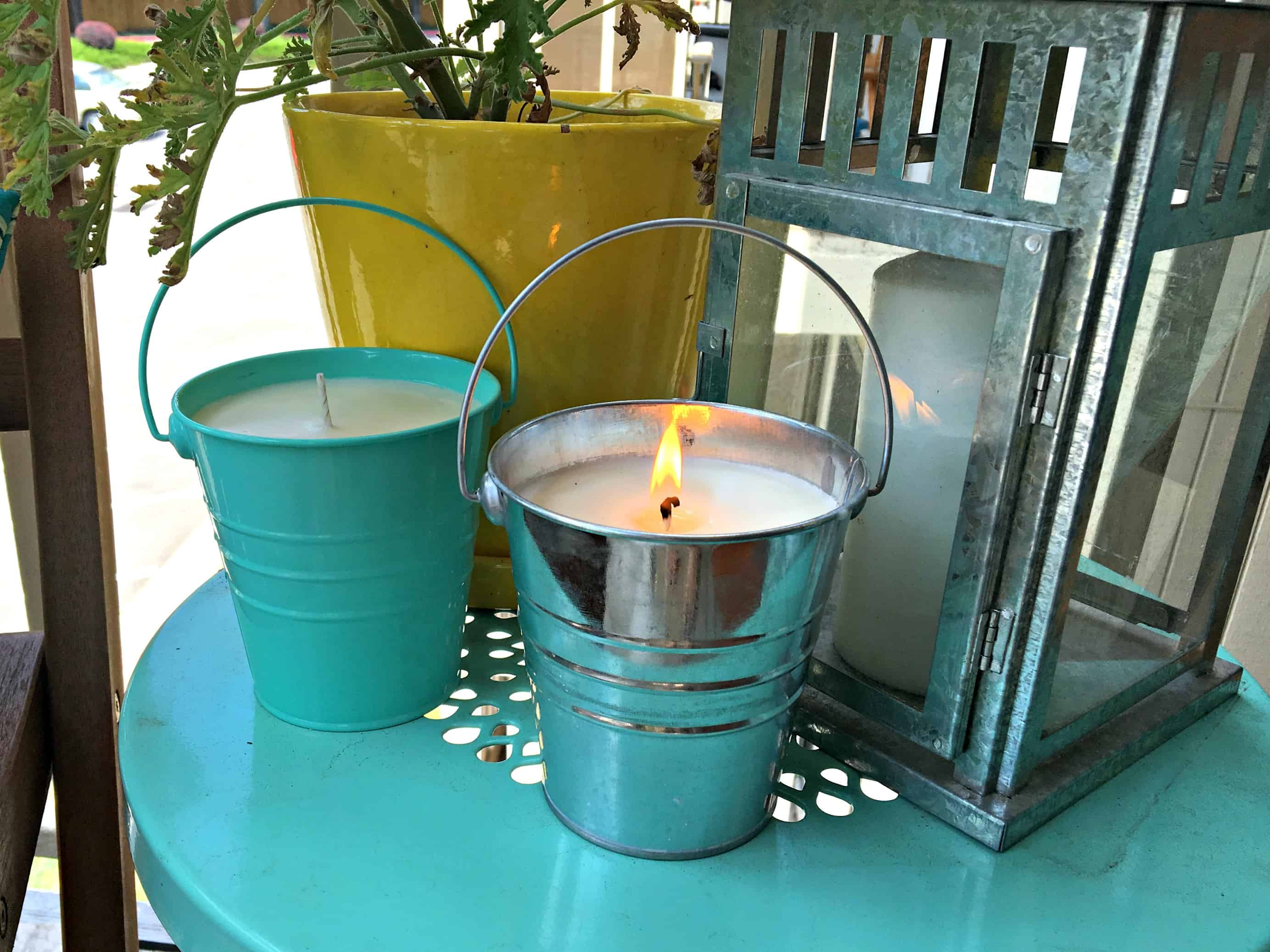 DIY All Natural Bug Repellent Candles | Habits of a Modern Hippie