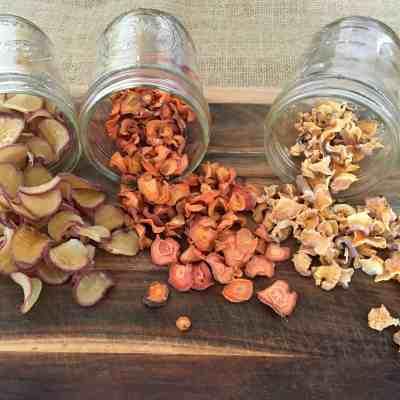 Dehydrator Basics: Root Vegetables