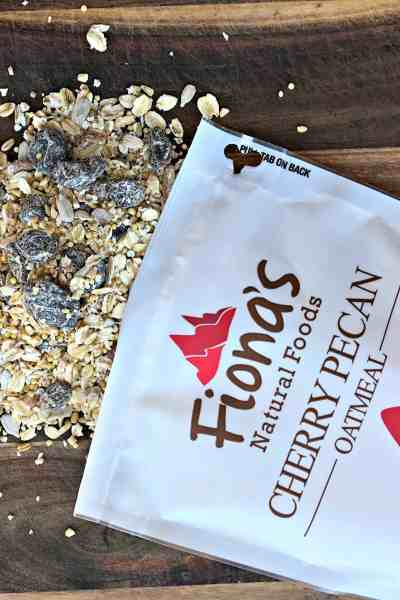 Fionas Natural Foods Cherry Pecan Oatmeal