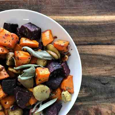 Simple Roasted Root Vegetables