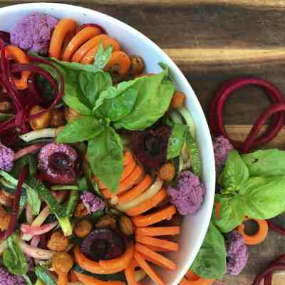 Spiralized Summer Salad