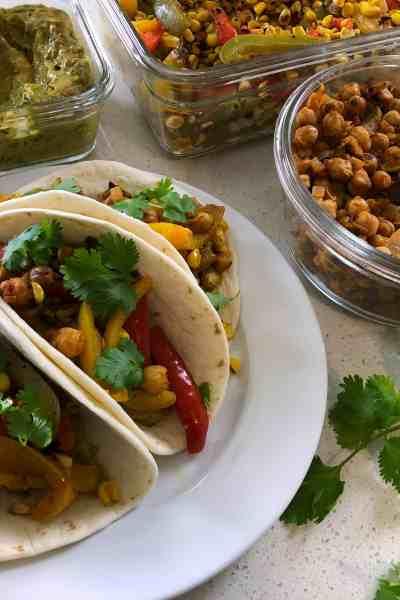 Vegan Meal Prep: Veggie Tacos