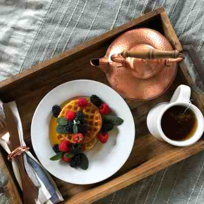 Elegant (But Easy!) Breakfast In Bed