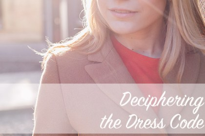 Deciphering the Dress Code