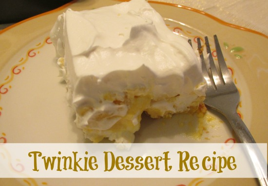 Comfort Food Twinkie Dessert Modern Homeschool Family