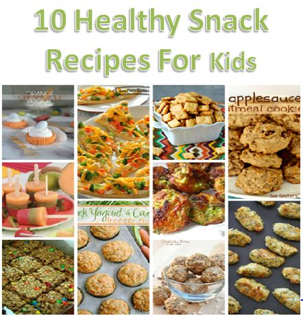 10 Healthy Snack Recipes For Kids Modern Homeschool Family