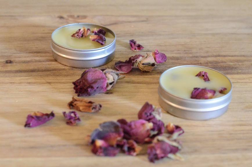 DIY Rose Lip Balm - Healing Herbal Lip Balm Recipe