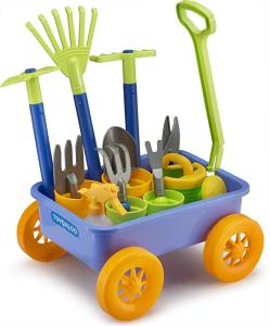 Garden Wagon and Tools Play Set