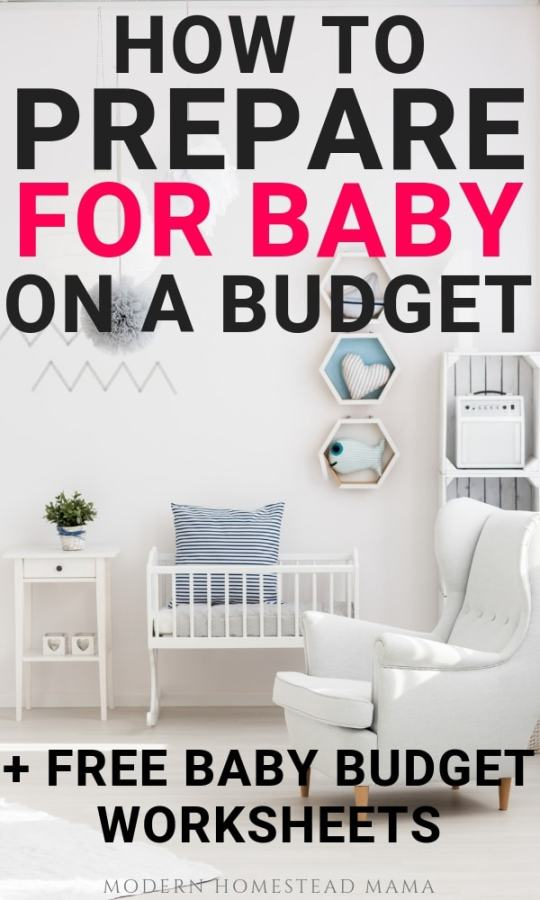 How To Prepare For Baby on A Budget