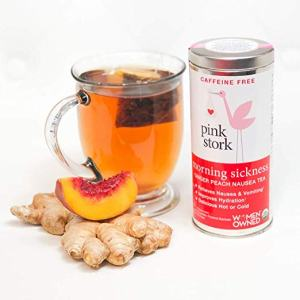 Morning Sickness Ginger Peach Nausea Tea