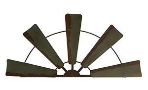 Rustic Windmill Decor