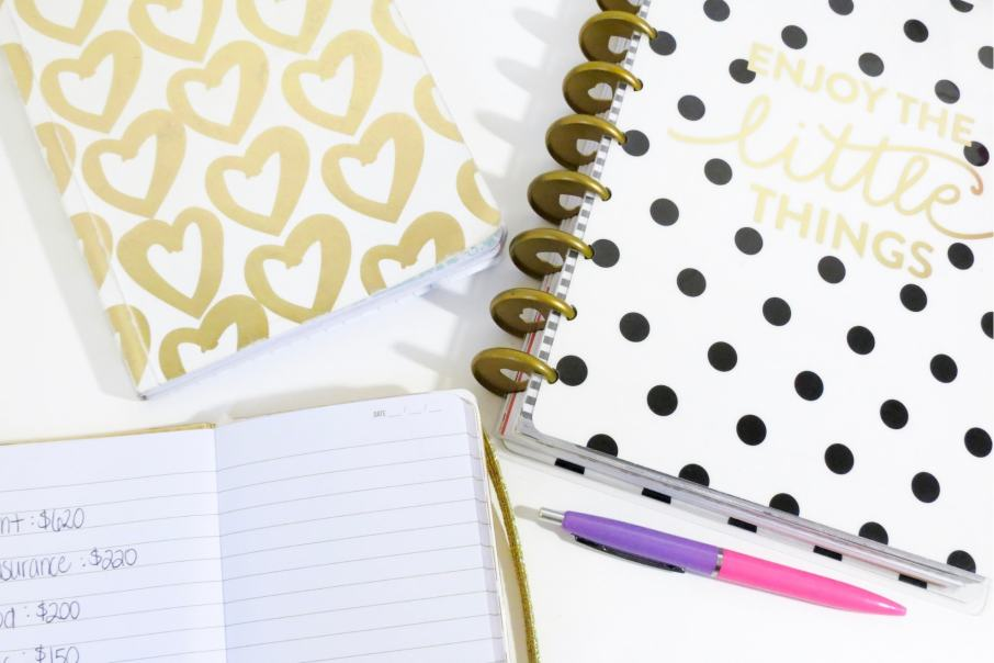 Notebooks and Pen For Notetaking