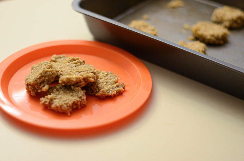 Easy Healthy Cookies for Toddlers - Banana Oatmeal