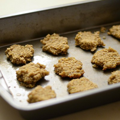 Two-Ingredient Oatmeal Banana Cookies For Toddlers
