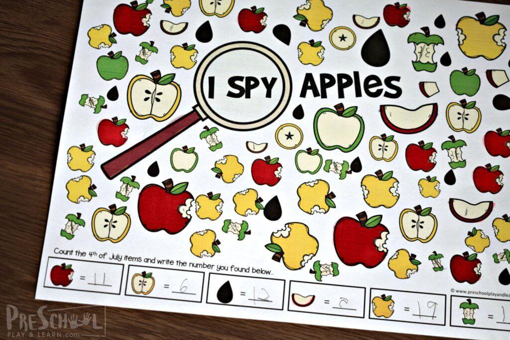 Apple I-Spy Game