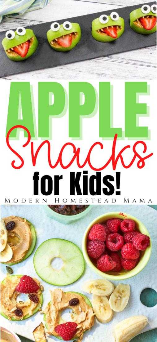 Apple Snacks for Kids   Modern Homestead Mama