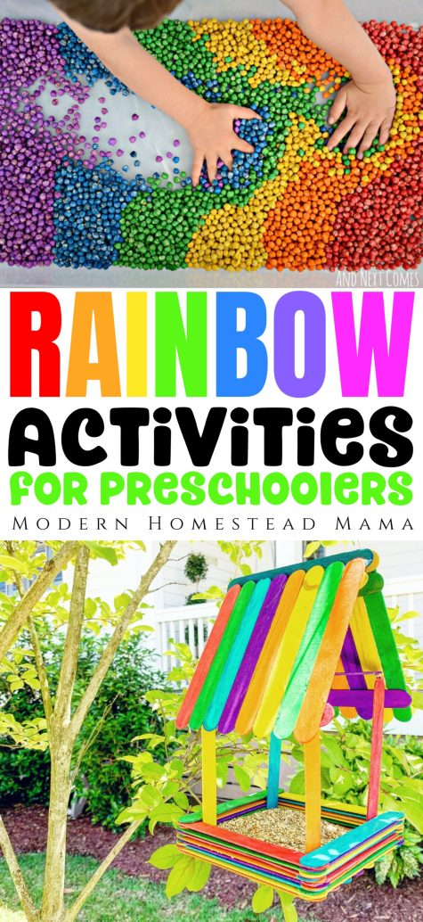 Rainbow Activities for Preschoolers | Modern Homestead Mama