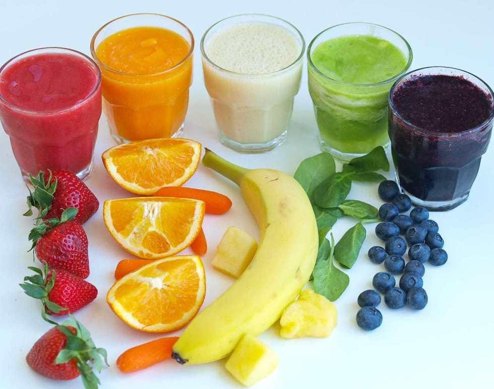 Rainbow Smoothie Taste Testing