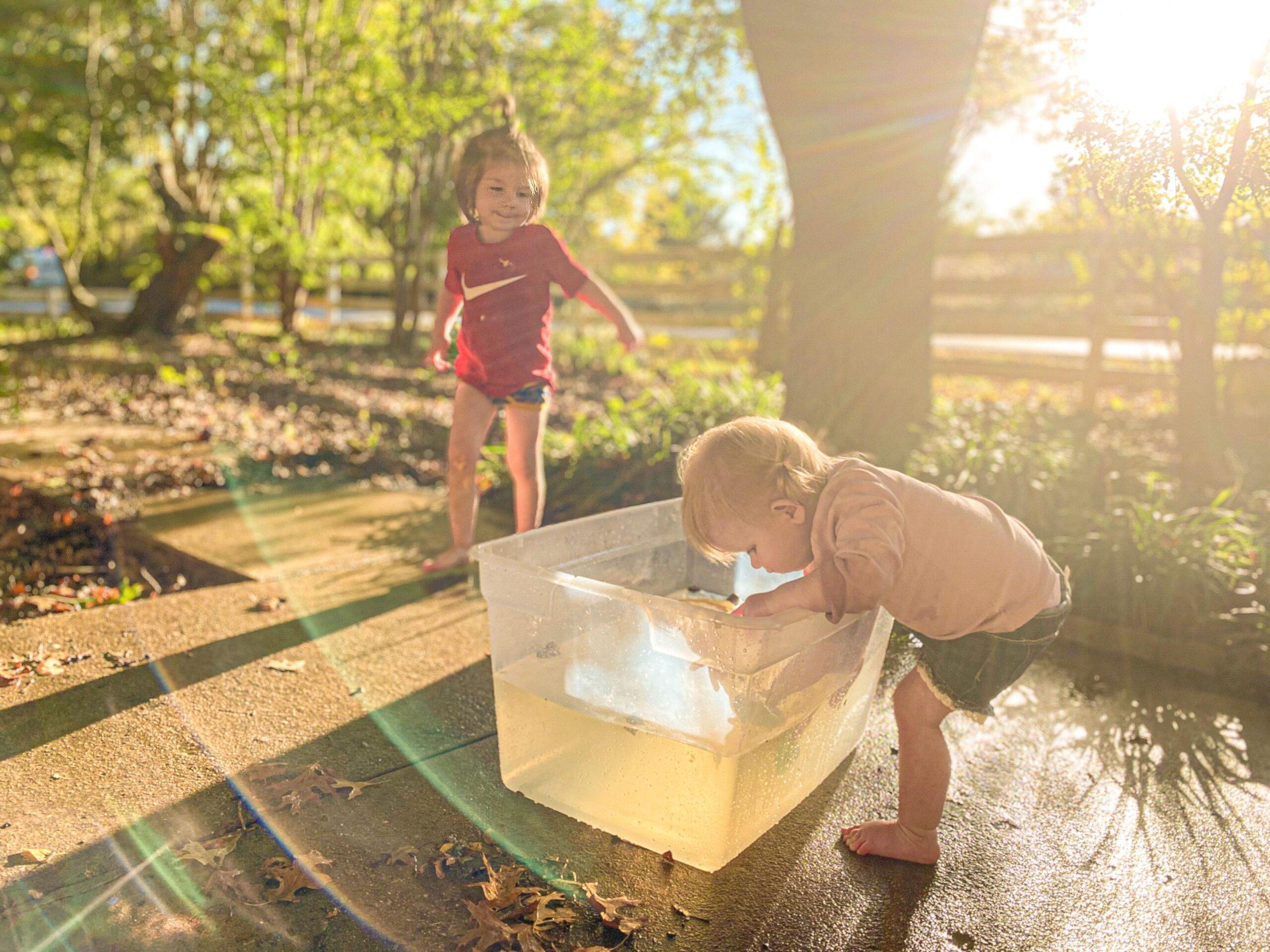 Pumpkin Boats Activity for Toddlers & Preschoolers