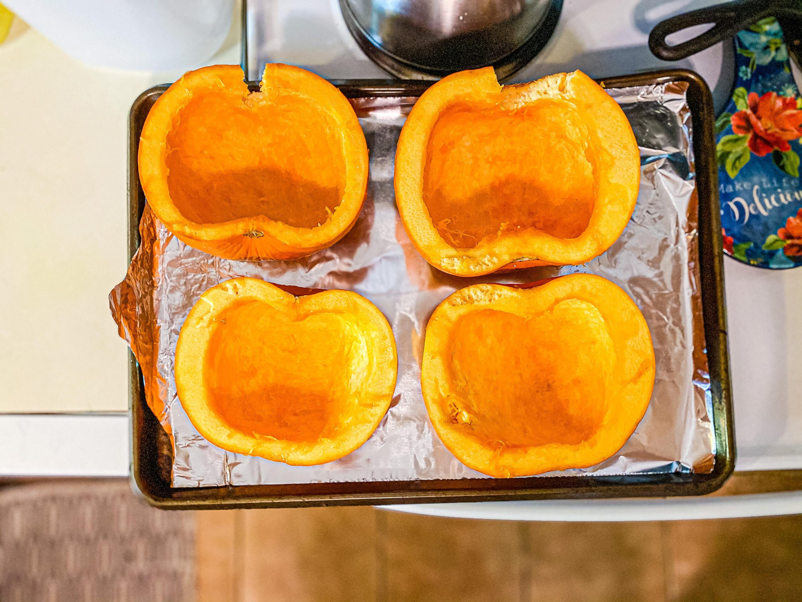 Pumpkin Puree from Scratch