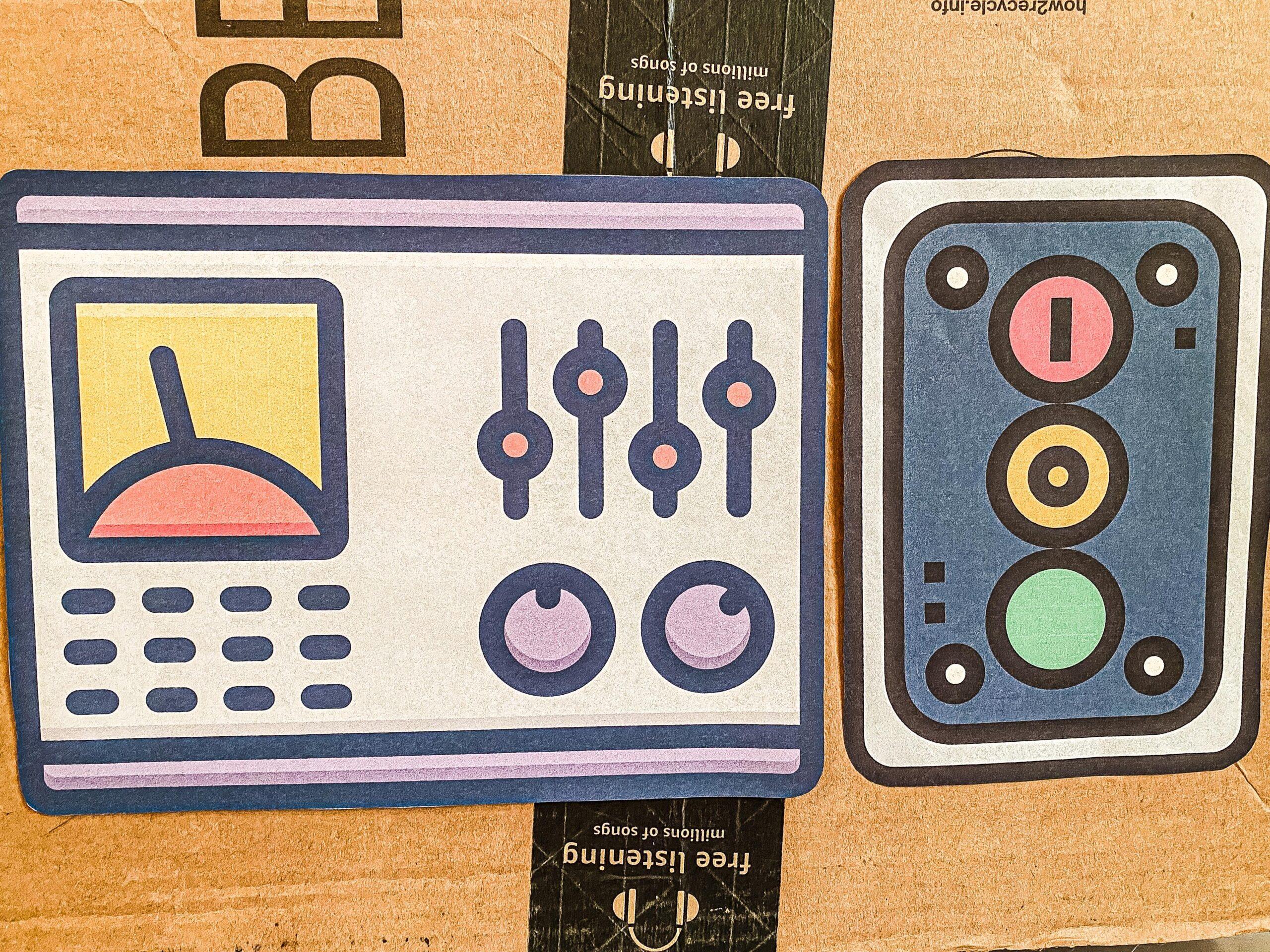 Astronaut Dramatic Play Bundle Printable Keypad Pretend Play for Kids
