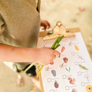 Autumn Scavenger Hunt for Preschoolers
