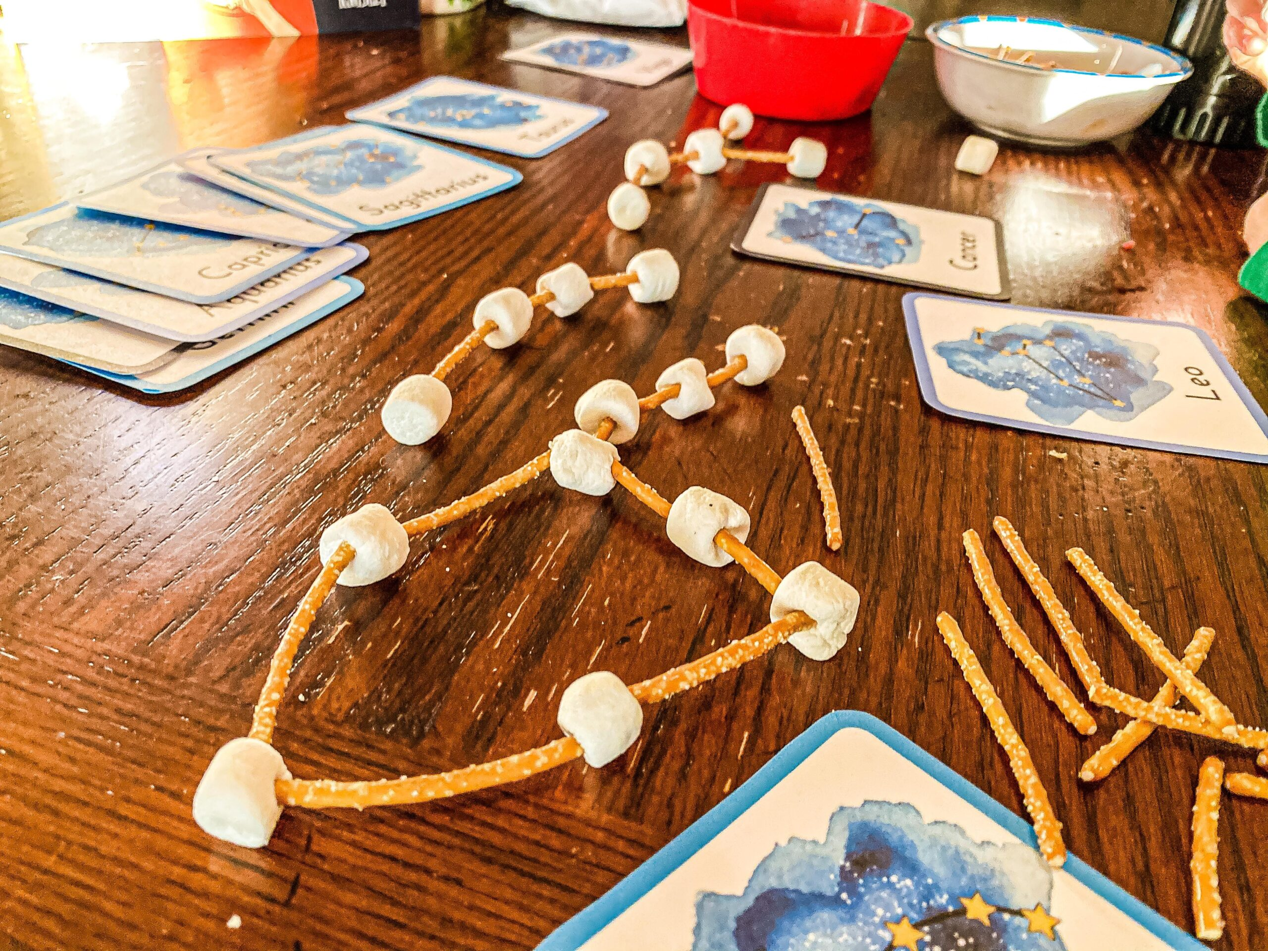Edible Constellations Activity | Astronomy and Space Study for Kids
