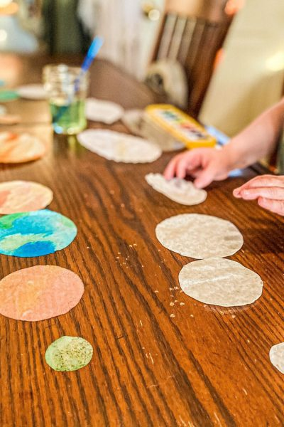 Planet Suncatchers Craft for Kids