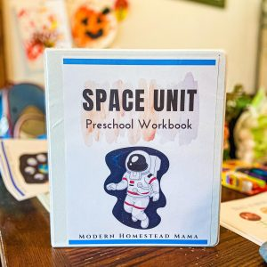 Space Workbook for Preschoolers