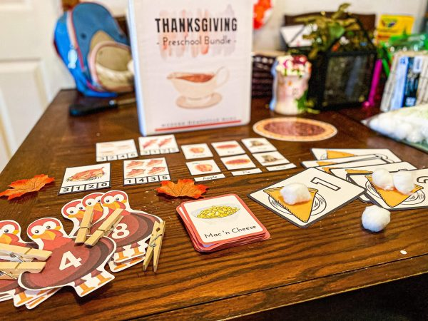 Thanksgiving Preschool Bundle