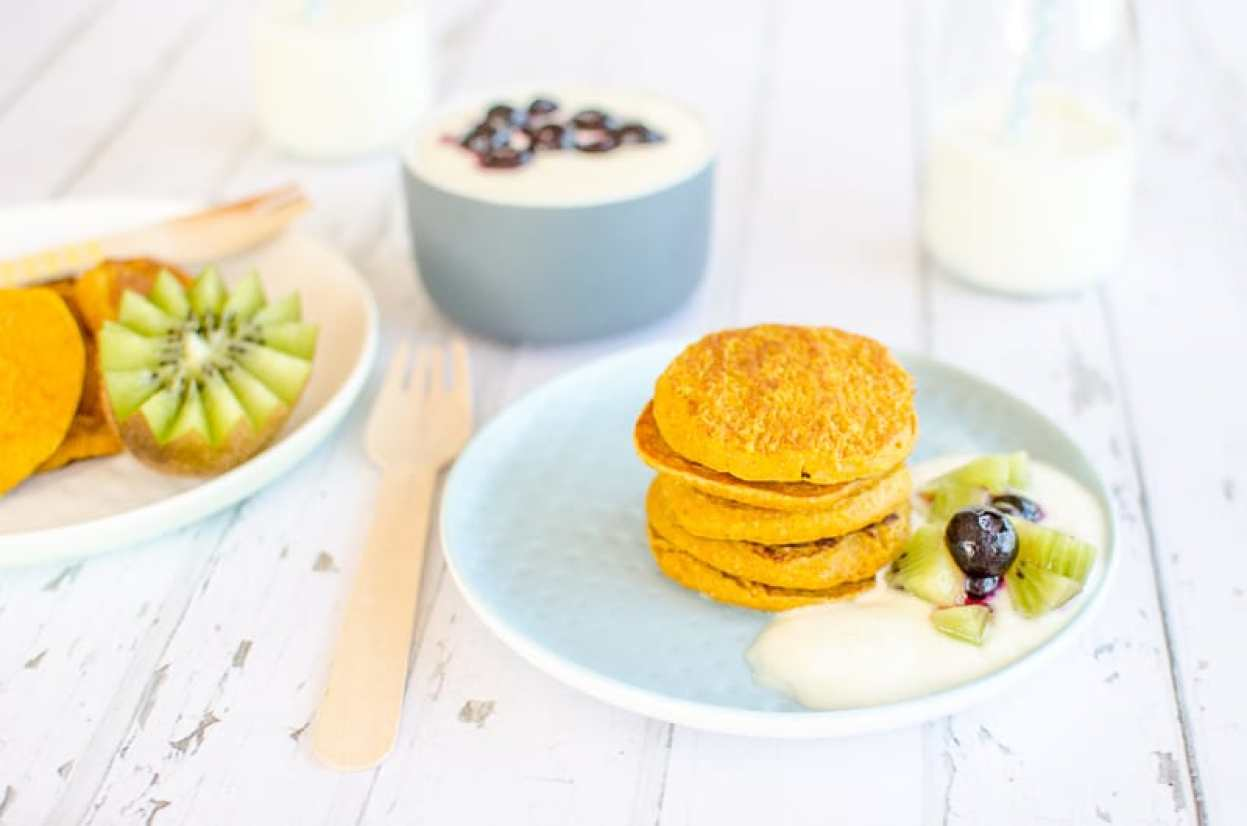 Wheat Free Pumpkin Pancakes