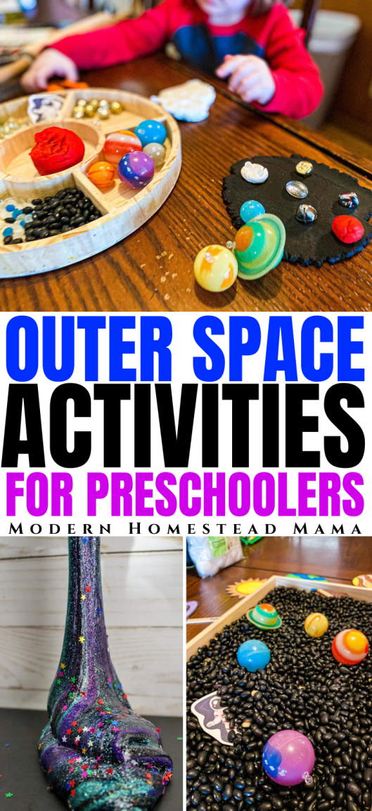 25 Space Activities for Preschoolers | Modern Homestead Mama