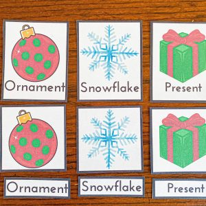 Christmas 3-Part Cards