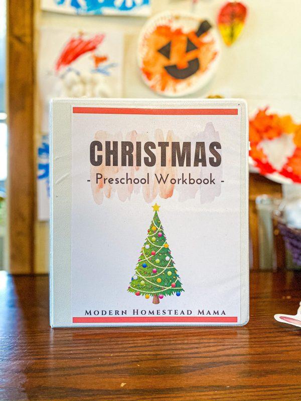 Christmas Workbook