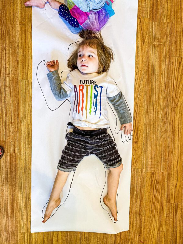 Full Body Self Portrait Craft for Preschoolers All About Me Theme
