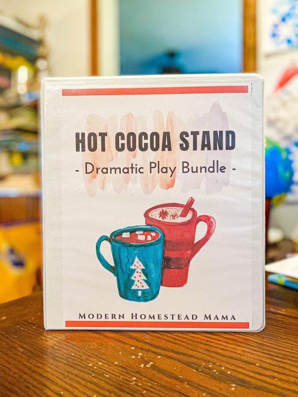 Hot Chocolate Dramatic Play Bundle
