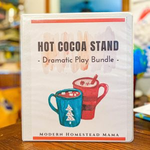 Hot Chocolate Dramatic Play Bundle