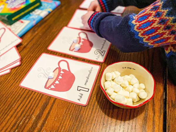 Hot Cocoa Marshmallow Counting Printable Activity for Preschoolers
