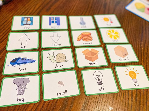 Opposites Matching Game for Toddlers