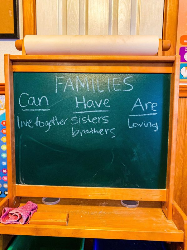 Families Can, Have, Are