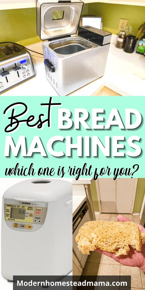 Best Bread Machines   Modern Homestead Mama